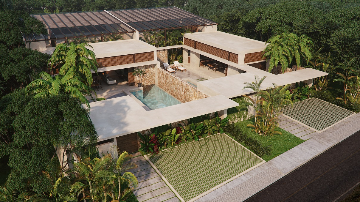 Awesome Spacious Bright And Unique House For Sale In Tulum Mexico Interior Design Ideas Gentotthenellocom
